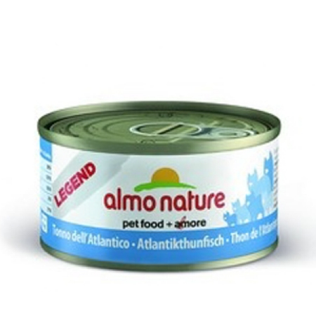 ALMO NATURE LEGEND консервы для кошек с атлантическим тунцом   70 гр