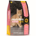 Nutram Sound Balanced Wellness Kitten Food корм сухой для котят 1,8кг