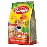 HAPPY JUNGLE Корм для декоративных птиц (универсал) 350гр