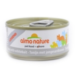 ALMO NATURE LEGEND консервы для кошек с тунцом и сардинками 70 гр