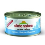 ALMO NATURE LEGEND консервы для кошек с макрелью   70 гр