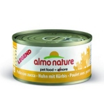 ALMO NATURE LEGEND консервы для кошек с курицей и тыквой   70 гр